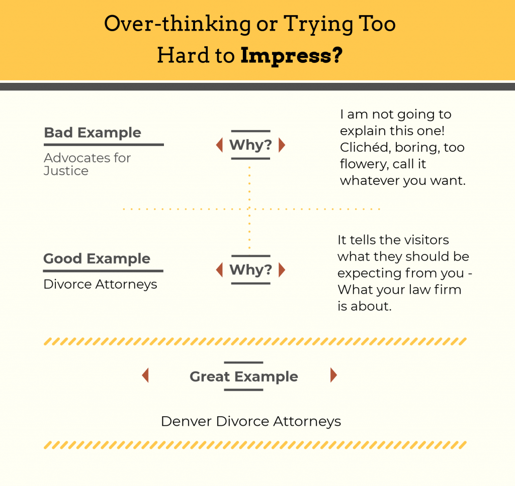 Crafting the about page for your law firm.