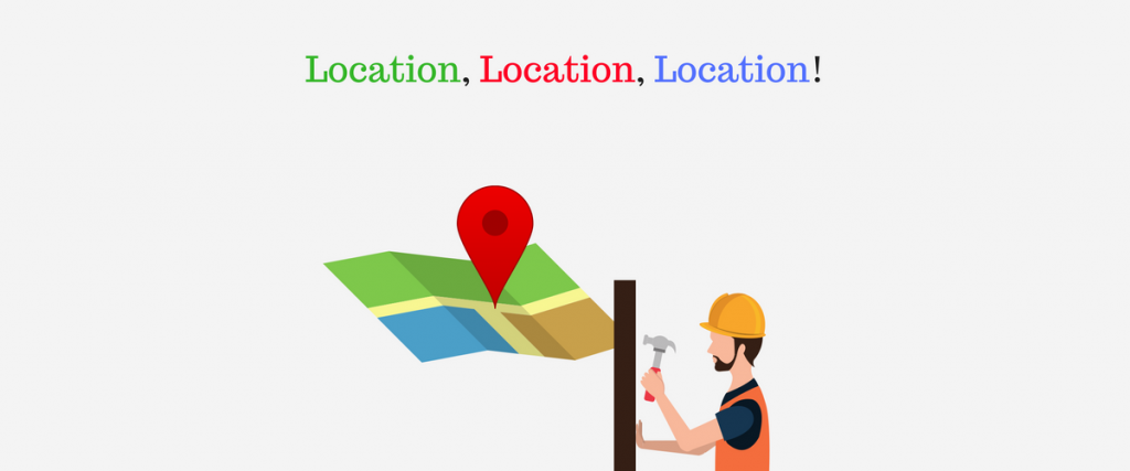 Provide your location and service area in your website.