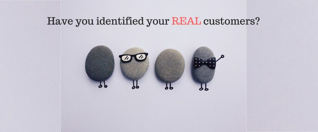 Identify your real customers