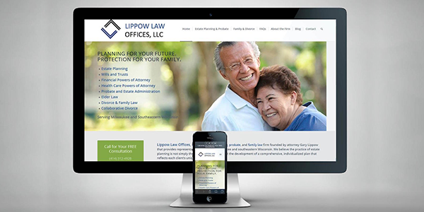 Home page for Your Estate Planning Website