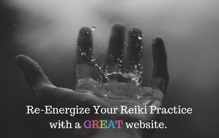 Tips for Reiki practice website