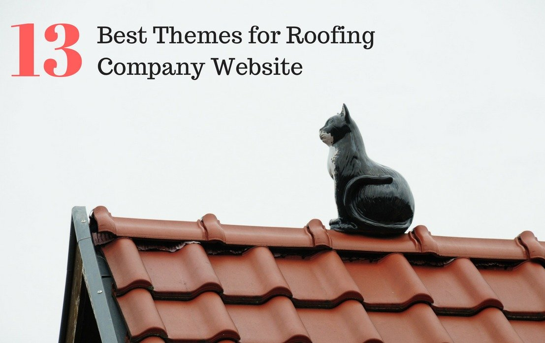 Top 13 Wordpress Themes for Roofing Company Website